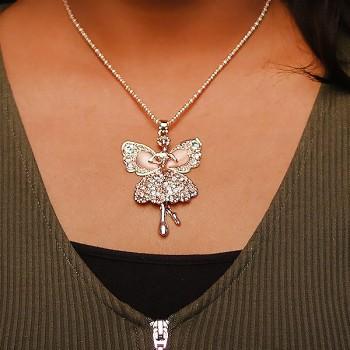 Single Pearl Angelic Neckpiece