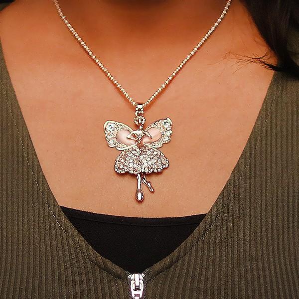 Angel Design Silver Pendant