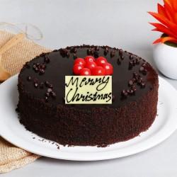 Half Kg Chocolate Truffle Cake for Christmas