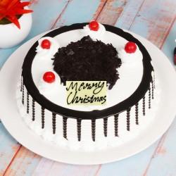 Half Kg Black Forest Cake for Christmas