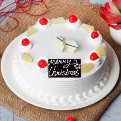 Half Kg Pineapple Cake for Christmas