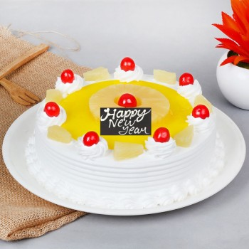 Half Kg Pineapple Cake for New Year