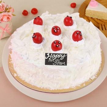 Half Kg Vanilla Cake for New Year