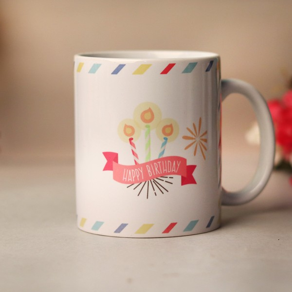 Personalised Coffee Mug for Birthday