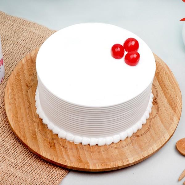 Vanilla Celebration Cream Cake
