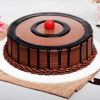 Half Kg Round Chocolate Cream Cake