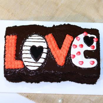 Love Bite | Valentine's Day Cake In Delhi Homemade