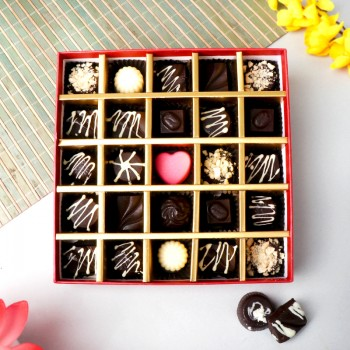 24 Pcs Homemade Assorted Chocolates Box