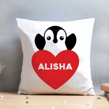 One Personalised Name Designer Cushion