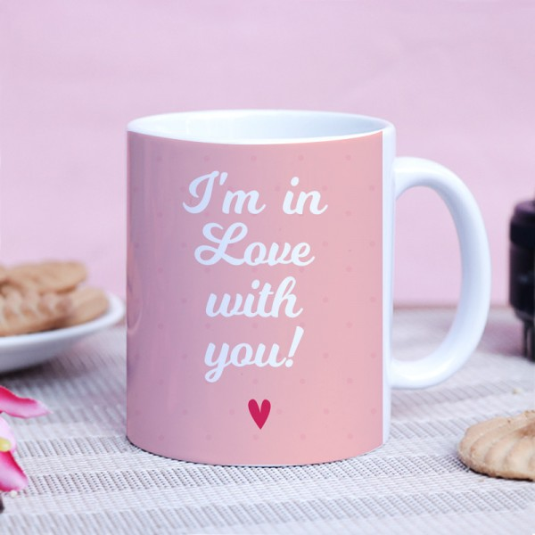 Love Theme Proposal Mug