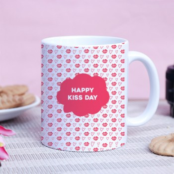 Happy Kiss Day Mug