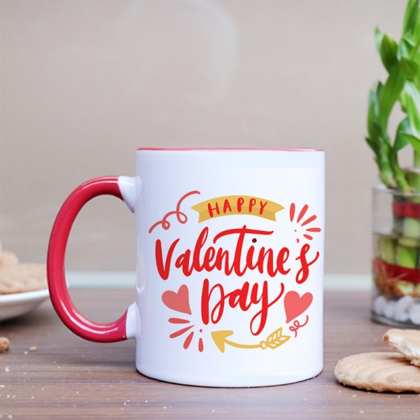 Happy Valentines Day Personalised Coffee Mug