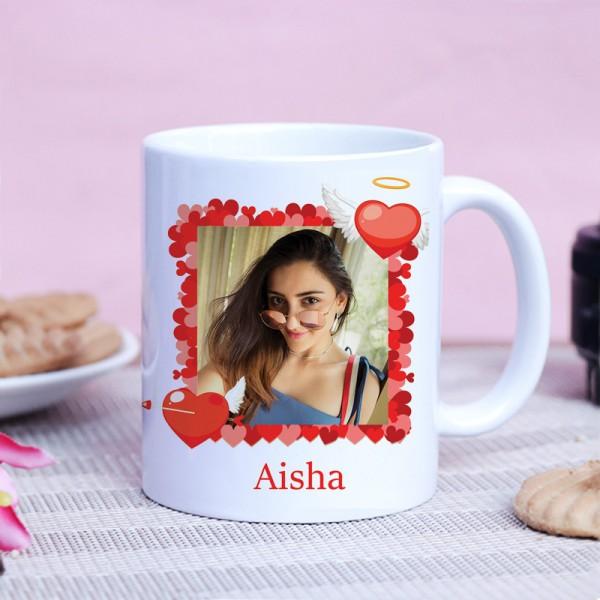 One Love Theme Personalised White Mug