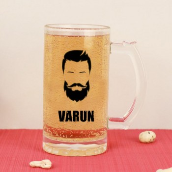 One Personalised Name Beer Mug