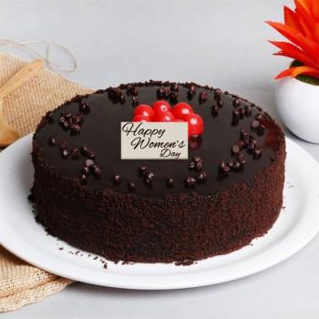 Half Kg Chocolate Truffle Cake for Womens Day