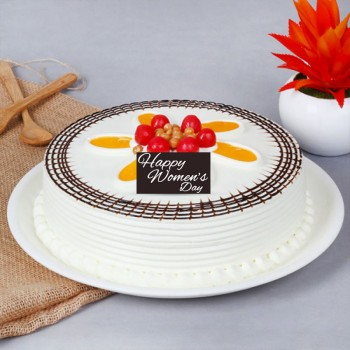 Half Kg Butterscotch Cake for Womens Day
