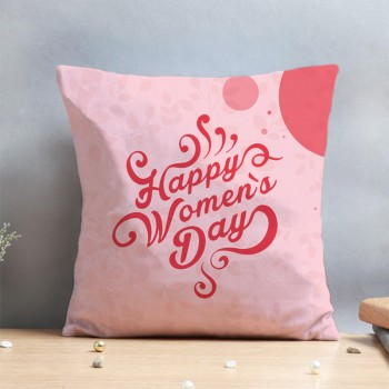 Happy Womens Day Cushion