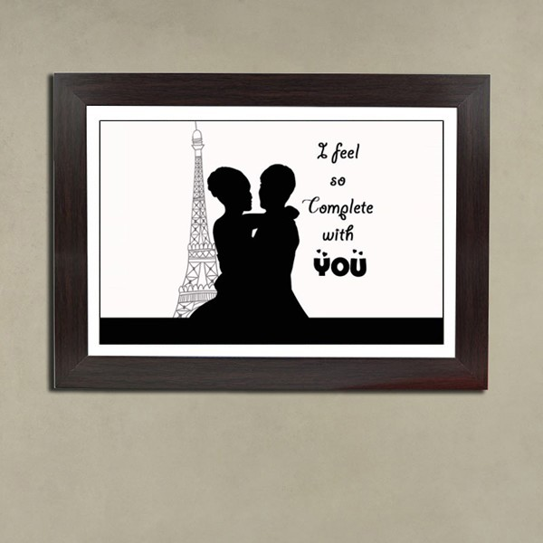 Love Theme Photo Frame