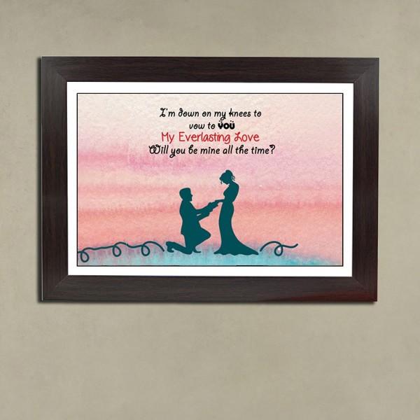 Proposal Photo Frame