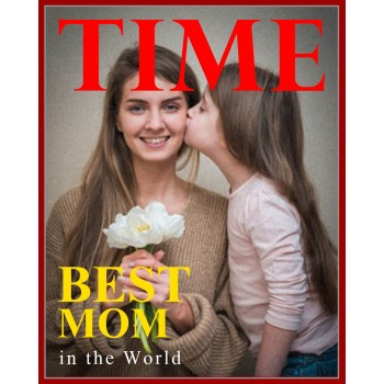 Mom Photo Magazine Cover for Mothers Day
