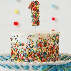 Vanilla Cake For 1st Birthday