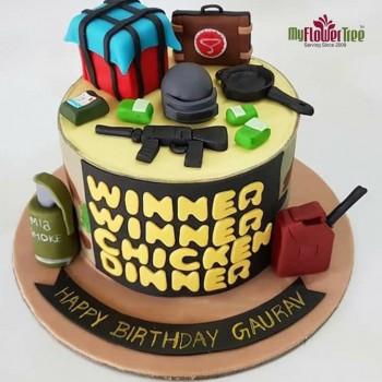 PUBG Battle Cake