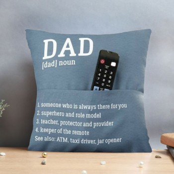 Printed Cushion for Best Dad