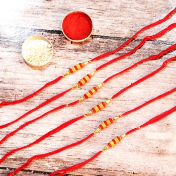 Set of 6 Designer Rakhi
