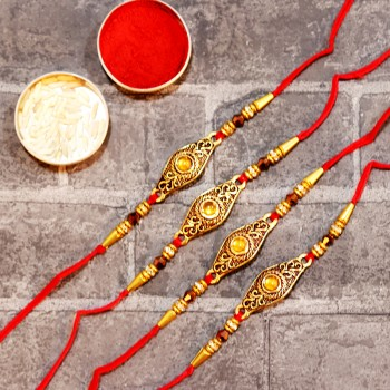 Set of 4 Classic Rakhis