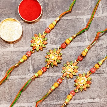 Set of 4 Conventional Rakhis