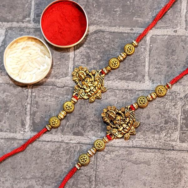 Set of 2 Traditional Rakhis