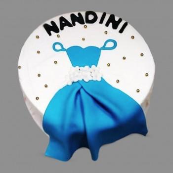 Princess Theme Fondant Cake