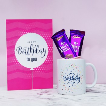 Birthday Mug and Greeting Card