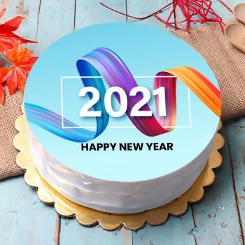 2021 New Year Cake