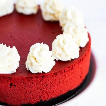 Half Kg Red Velvet Cheesecake