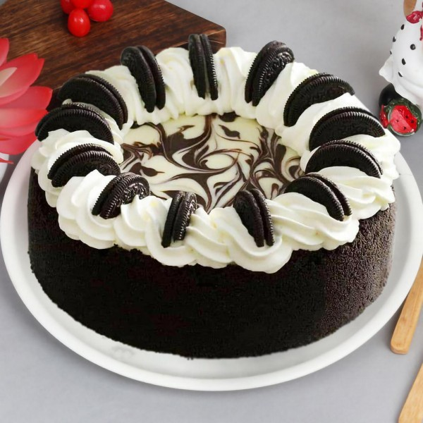 Half Kg Oreo Chocolate Cheesecake