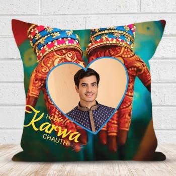 Karwa Chauth Personalised Cushion