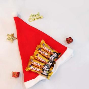 Santa Cap and 5 Star Chocolate
