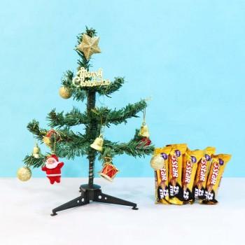 Christmas Tree and Five Star Chocolates