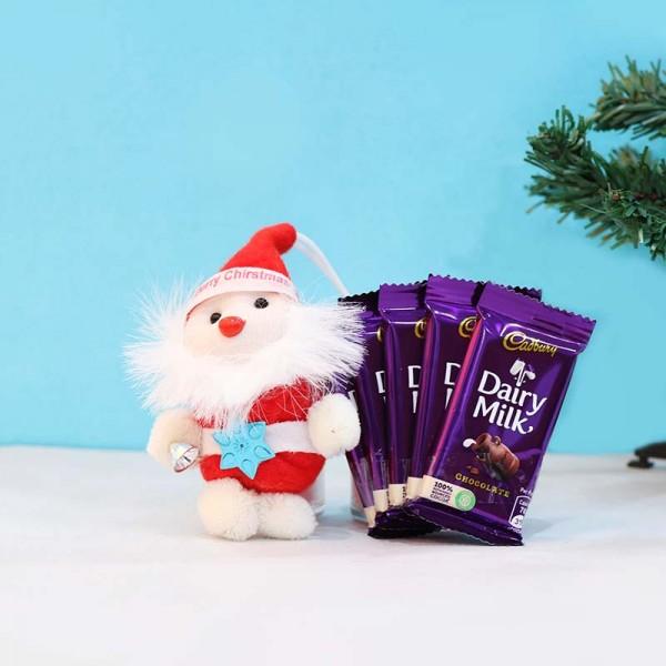 Santa Claus and Dairy Milk Chocolate