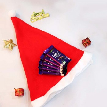 Christmas Cap and Chocolates