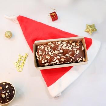 Christmas Plum Cake and Santa Cap