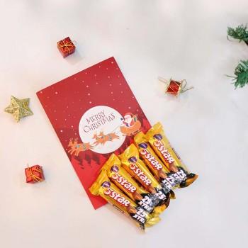 Christmas Greeting Card and Five Star Chocolates