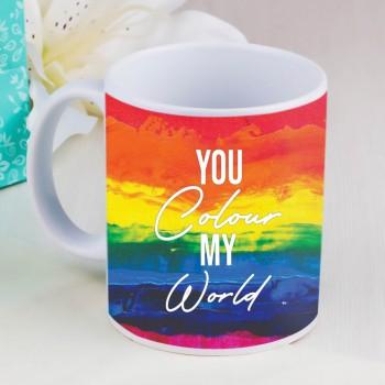 Rainbow Theme mug