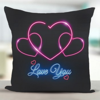 Love You Printed Cushion