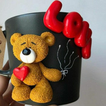 Teddy Love Mug