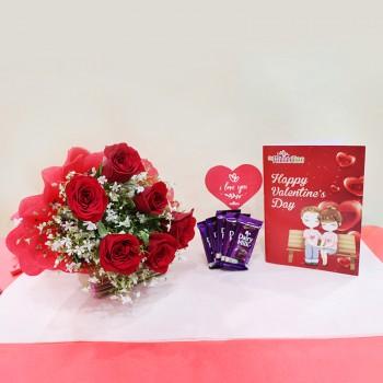 Valentines Day Greeting Card Hamper