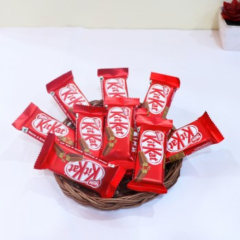 Kitkat Basket Arrangement