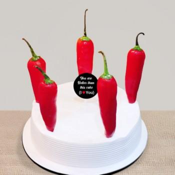 Red Chilli Cake