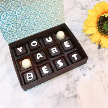 Simply Best 12 pcs Homemade Chocolates Box
